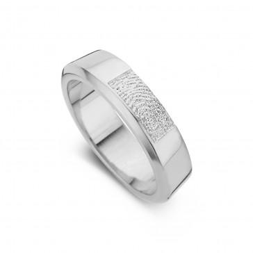 Warm arany fehér/fehér női gyűrű szélesség 5,5mm