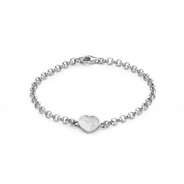 Bliss Heart Karkötő ezüst 12mm