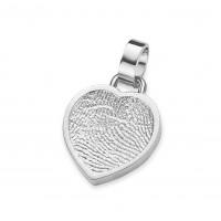 Bliss heart ezüst
