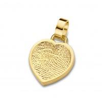 Bliss heart arany sárga/fehér