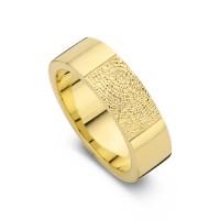 True arany sárga/sárga női gyűrű szélesség 5,5mm