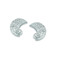 Moon zirconia ezüst