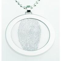 Coin S ezüst 27 mm a fűzőlyuk
