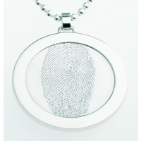 Coin S ezüst 25 mm a fűzőlyuk